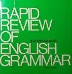 Jean Praninskas - Rapid Review of English Grammar
